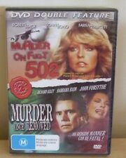 DVD :  DOUBLE FEATURE - MURDER ON FLIGHT 502 & MURDER ONCE REMOVED - M - Farrah