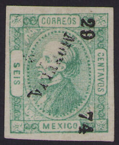 cw10 Mexico #93 6ctv Morelia 29-74 Better Year Mint No Gum Very Fine est $15-20