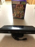 Microsoft XBOX 360 Kinect Motion Sensor with KINECT ADVENTURES-Tested works