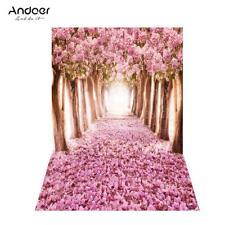 Andoer 5*6.9ft Fotografie Fotostudio Holzboden Kulisse Hintergrund Tuch Backdrop