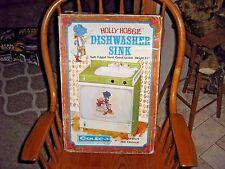 Vintage 1975 Coleco Holly Hobbie Dishwasher Sink