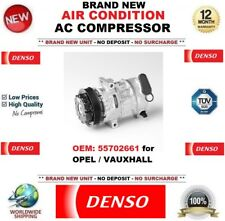 DENSO AIR CONDITION AC COMPRESSOR FEO: 55702661 for OPEL VAUXHALL BRAND NEW UNIT