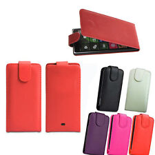 Vertical Flip Cover Pouch Holder Protector Case For Nokia Lumia 610 620 820 920