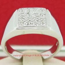 Natural Diamond Rhodium Plated Fine Jewellery