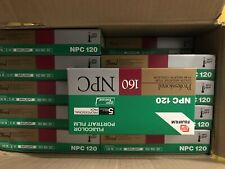 Fujifilm Fujicolor 120  NPC 160 ISO  5 ROLLS  Expired Film NOS