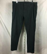 Lululemon Mens Flat Front Chino Pants Gray 38 x 33