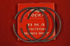 "NOS BSA B44 Victor 441 OEM .040"" Oversize Piston Rings Set"