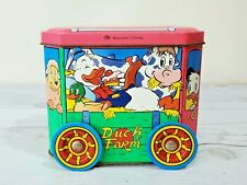 1950s Disney Duck Farm Tin Toy, CMB Metalcards, Made in England, Donald Duck