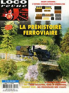 Loco Review 670 Of 2003. La Track, Rails, Ballast And Crossbars