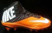 Rare Nike Zoom Code Elite 3/4 TD Football Cleat Men 12.5 Black Orange 620499 208