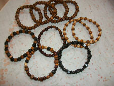 Unbranded Wooden Beaded Bracelets without Stone for Men