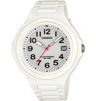 Casio LXS700H-7BV, Women's White Resin Watch, Solar Powered, Date, 100 Meter WR