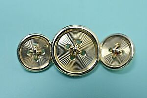 Tiffany &Co NEW Estate Solid 14K Yellow Gold Cufflinks Buttons GAL $5K Appraisal
