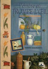 Livre peindre en trompe l'oeil Roberta Gordon-Smith book