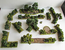World War 2 Mandertory Miniatures resin 28mm Bocage terrain set 3, Bolt Action