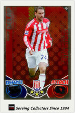 2010-11 Topps Match Attax Showboat Foil No 374 Rory Delap (Stoke City)