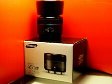 Samsung NX 45mm f/1.8 iFunction Lens ( white and black colors)