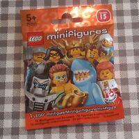 Lego minifigures series 15 unopened sealed random mystery blind bag