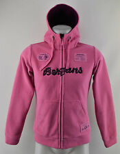 Bergans Of Norway Fleece Jacket Hooded Warm 1651 Bryggen Youth Pink 164-170 cm