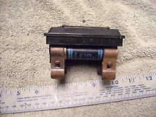 Vintage Fuze Boxholder With 2 Time Delay 60 Amp Fuzes