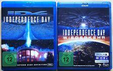 Independence Day + Wiederkehr | Teil 1 + 2 | Blu-ray Sammlung