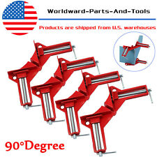 4x 90° Degree Right Angle Picture Frame Corner Clamp Holder Woodworking Hand Kit