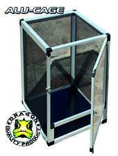ALU Cage Aluminium drahtgaze terrarium-aluminium 60x60x120cm
