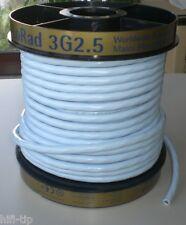 Supra Cables LoRad  MKII  Netzkabel 3x2,5 mm² geschirmt / Meterware