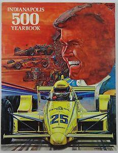 1987 Indianapolis 500 Yearbook Hungness Al Unser Cummins-Holset Penske Paperback