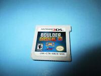 Boulder Dash-XL 3D (Nintendo 3DS) XL 2DS Game