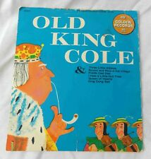VINTAGE 45 RPM Record - Old King Cole / 3 Lil Kittens /Fiddle Dee / Lil Nut Tree