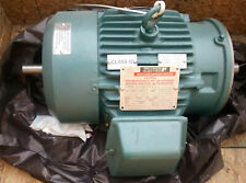 Reliance Electric Nuclear Service Motor 1.5HP 230V 3PH 184TC 850RPM Dual Shaft