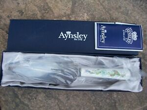From Aynsley China And Stainless Steel Cake Slicer