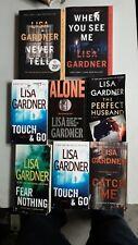Lisa Gardner 8 Book Paperback Lot