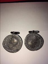 Roman Coin Claudius  WC1B  Pair of  Cufflinks Made From English Modern  Pewter