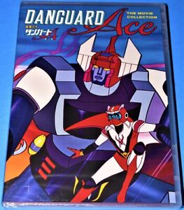 NEW SHOUT FACTORY DANGUARD ACE THE MOVIE COLLECTION JAPANESE ANIMATION DVD 1977