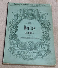 The Damnation of Faust - Dramatic Legend in Four Parts [Piano/Vocal Score: Text