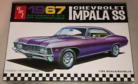 AMT 1967 Chevy Impala SS 1:25 scale model car kit new 981