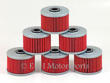 2001 2002 2003 HONDA SPORTRAX 400EX  **6 PACK** HIFLOFILTRO HIFLO OIL FILTER