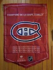 Molson Beer Stanley Cup Banner Flags Complete Set of 20 Teams