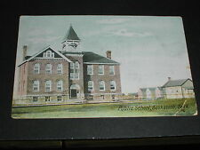 Public School 1907? Saskatoon, Sask. Postcard