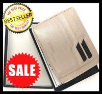 Genuine Leather Credit Card Holder Wallets For Men - Slim Minimalist Mens Wallet