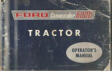 Ford Commander 6000 Tractor Owner's Manual