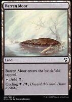 4x Barren Moor | NM/M | Commander 2018 | Magic MTG