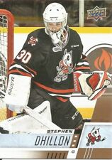 Stephen Dhillon #130 - 2017-18 CHL - Base - Niagara IceDogs