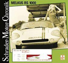Melkus RS 1000 DDR Rennwagen Schrader Typen Motor Modelle Chronik Geschichte NEU