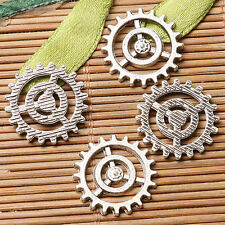 16pcs dark silver color  gear parts  design for jewerly making  EF2859