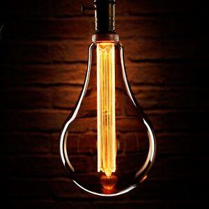 Auraglow Mysa LED Light Bulb Vintage Retro Edison Decorative E27 S165 Globe XXL
