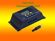 30A LCD solaire Régulateur de charge photovoltaïque 12V/24V pour panneau