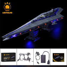LED Light Kit For Star Wars Super Star Destroyer Building LEGO 10221 lighting